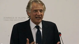Dominique de Villepin enchante le monde de la communication genevois