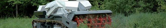 Security. Un robot pour déminer