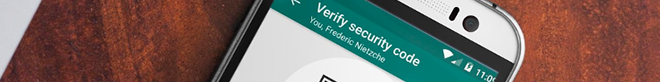 Security. There is no WhatsApp 'backdoor'