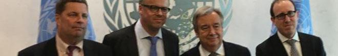 Le secrétaire général de l'ONU s'engage à agir pour la sécurité des journalistes