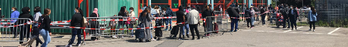 More than 1,000 queue for food in rich Geneva amid virus shutdown