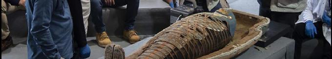 Archéologie. Plus de cent sarcophages intacts ont été découverts en Égypte
