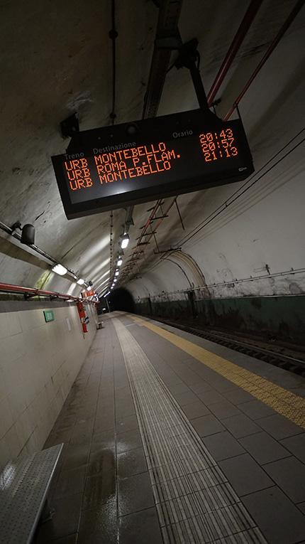 TRAIN STATION ROMA