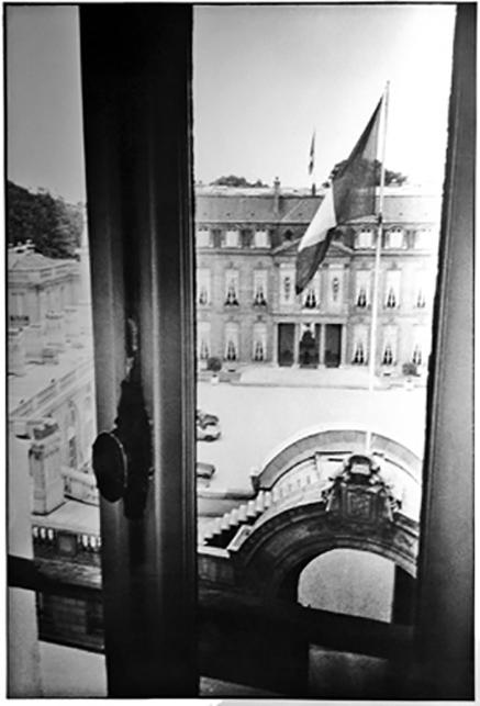ELYSEE PALAST PARIS 1981
