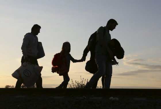 Pour empêcher les arrivées de migrants, douze pays de l'Union européenne veulent ériger des barrières à leurs frontières